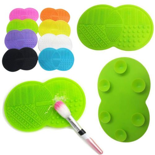 Silicone-Makeup-Brush-Washing-Cleaner-Scrubber-Board-Cosmetic-Cleaning-Mat-New