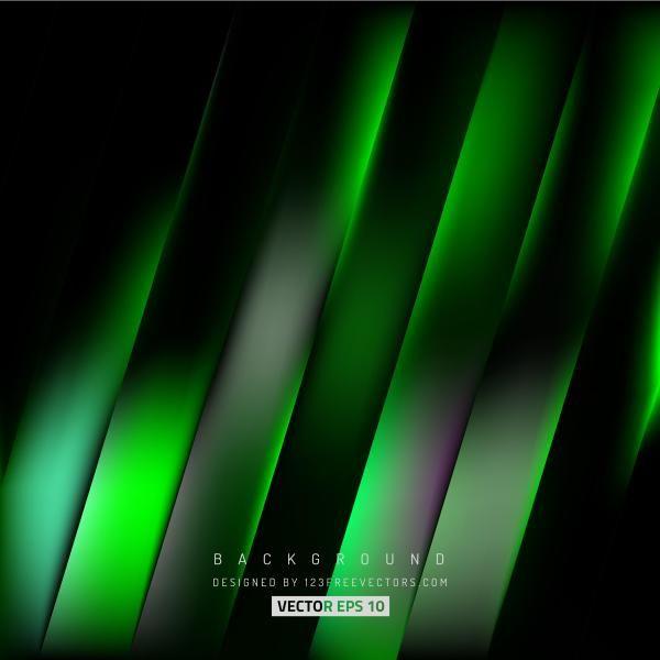 Abstract Black Green Stripes Background Design Background Design