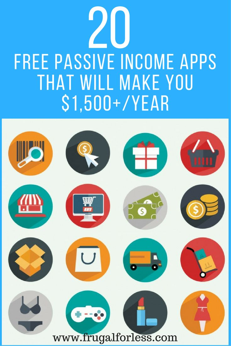 Earn Money From Home Read on for 20 passive income apps that will help you make $1,500  in extra income per year. Money making apps are a great way to earn money, but passive income apps are perfect for earning money while doing nothing. All of these apps are 100% free and do You may have signed up to take paid surveys in the past and didn't make any money because you didn't know the correct way to get started!