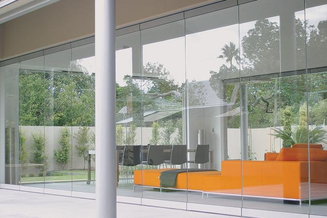 Glas-Stax Frameless Bifolds - by Lotus Doors