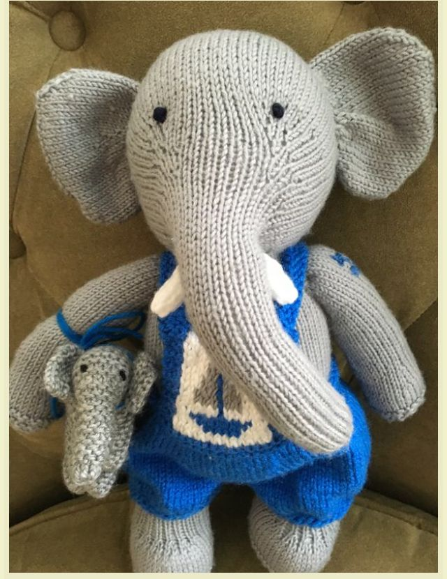 Latest elephant with buddy.