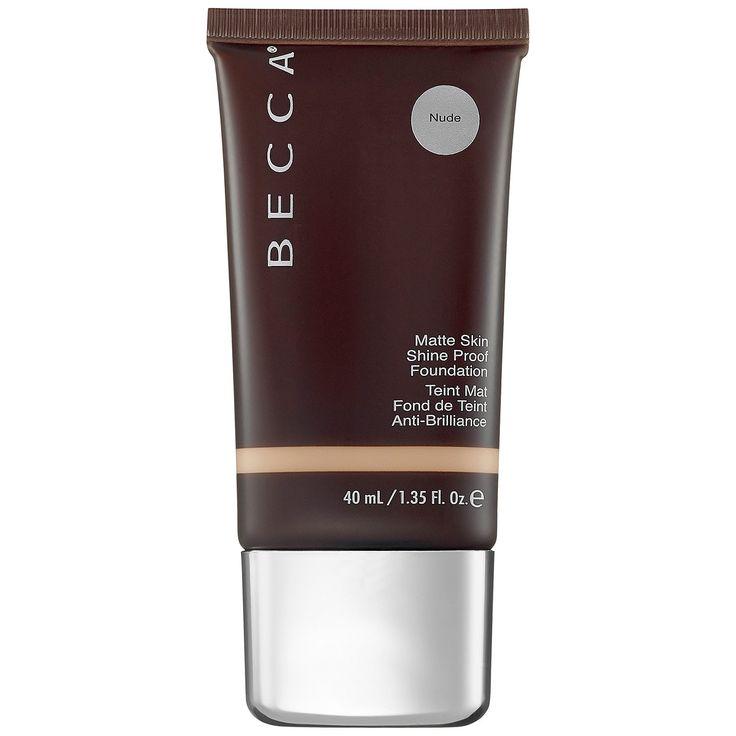 BECCA Matte Skin - Shine Proof Foundation in Nude (light to medium beige, neutral to yellow/golden undertones)