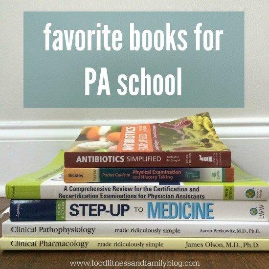 favorite books for PA school                                                                                                                                                                                 More