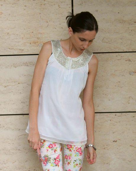 Stylizacja stylizacja Moda Lato modjus Kwiaty górą!