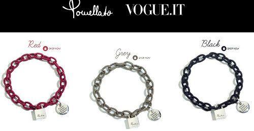 Bracciale Vogue Pomellato per Fondazione IEO ... 3 varianti di colori