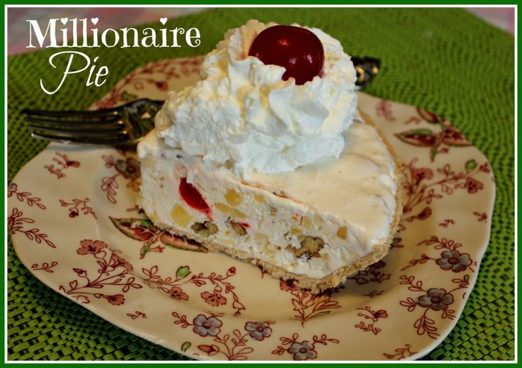Millionaire Pie. 1 (8 oz.) pkg. cream cheese, softened; 1 (14 oz.) can ...