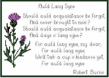 "Love the sond: Auld Lang Syne ... The song's Scots title may be translated into English literally as ""old long since"", or more idiomatically, ""long long ago"",[4] ""days gone by"" or ""old times"". Consequently ""For auld lang syne"", as it appears in the first line of the chorus, might be loosely translated as ""for (the sake of) old times""."