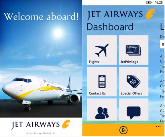 Jet Airways Mobile app Lunched for windows Phone - http://wideinfo.org/jet-airways-mobile-app-lunched-windows-phone/