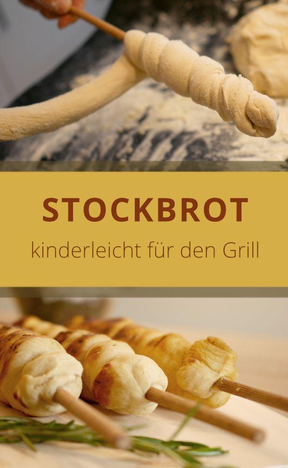 Stockbrot ist ein Brot, das um einen Stock gewicke…