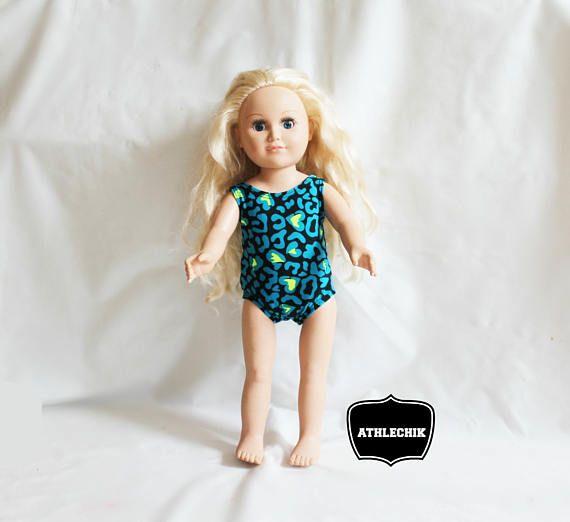 Gymnastics leotard for 18 inches doll american doll clothes