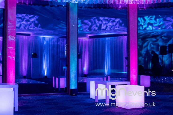 """The Only Way Is Essex themed party with a live band, disco and lots of bubbly at North Hants Golf Club in Fleet - """"Reem"""" (as they say in Essex!) venue for parties and weddings  🎉 Contact us to plan your special event! #TOWIE #PartyByMGN #PartyIdeas #CoolDecor #PartyPlanners #LEDLighting #Entertainment #PartyPlanning #Essex #GolfClub #50thBirthday #50thParty #Reem #TotesWellJell #Fleet #LEDCubes #PartyFurniture #Gobo #Uplighters"""