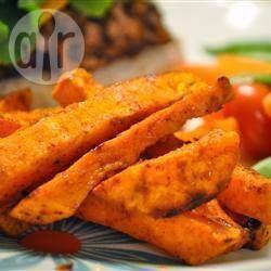 Tiras de camote dulce al horno @ allrecipes.com.mx