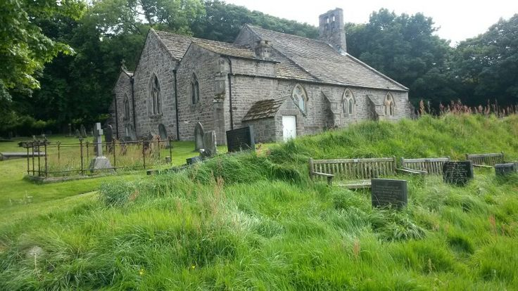 The Chapel in Heysham village (St Peter's Church)