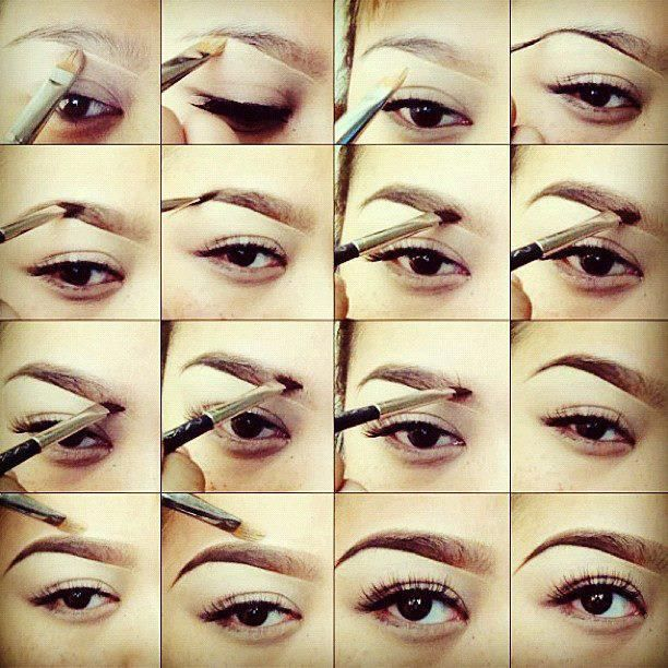 how to make eyebrows smooth