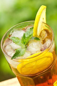 Ev yapımı limonlu buzlu çay - PembeNar