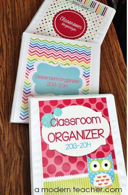 Teacher's Classroom Organizer