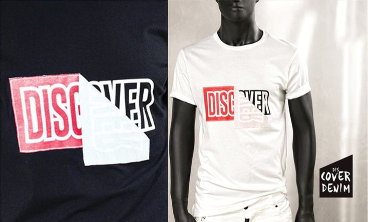 white distressed T-shirt