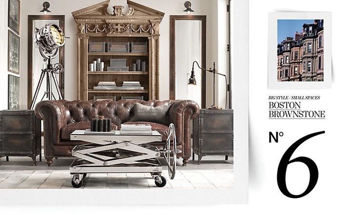 70 best images about rh on pinterest - Small spaces restoration hardware set ...
