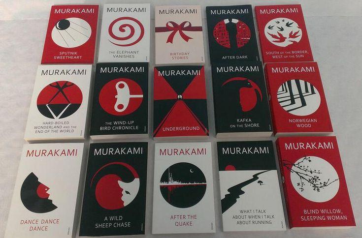Noma Bar Murakami Covers