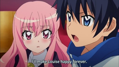 I just LOVE these two!! They are so good together (in my opinion) and I was so freakin' HAPPY that they got married. <3 <3 <3 Louise x Saito