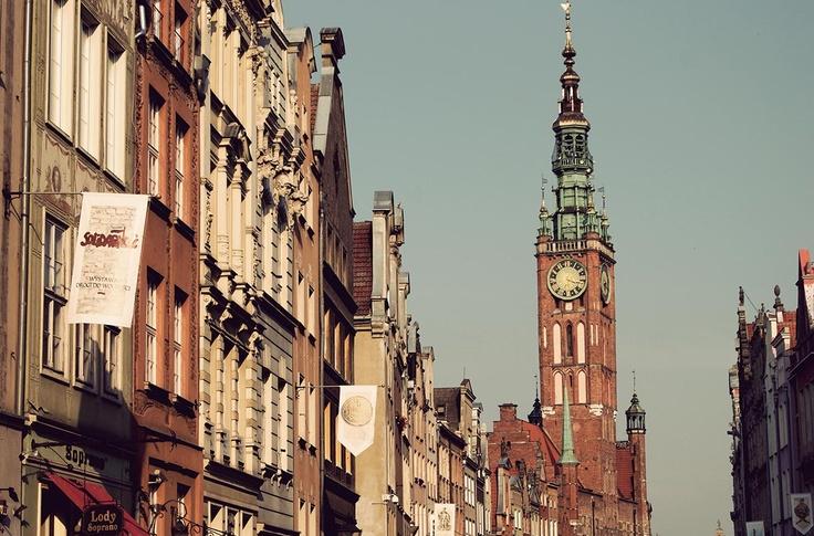 #gdansk, Dluga street during the Dominican Fair AD 2012 (c) Małgorzata Rybakowska