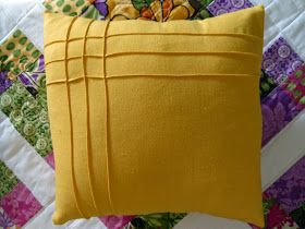 Ameroonie Designs: Bring the Sunshine In! Pillow