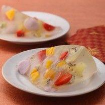 MIRROR GLAZE FRUIT PUDDING Sajian Sedap