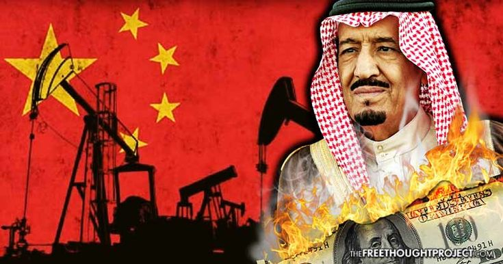 China, the largest global oil importer, is putting pressure on Saudi Arabia to shun the U.S. dollar and denominate oil sales in Chinese yuan.