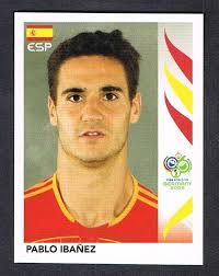 Image result for germany 2006 panini spain ibanez