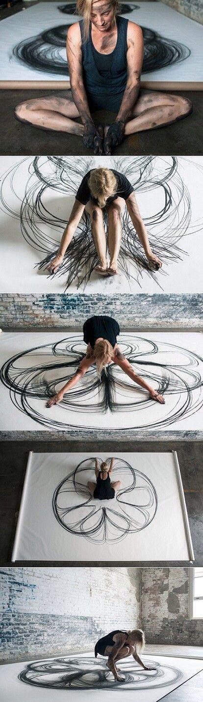 Kinetic drawing