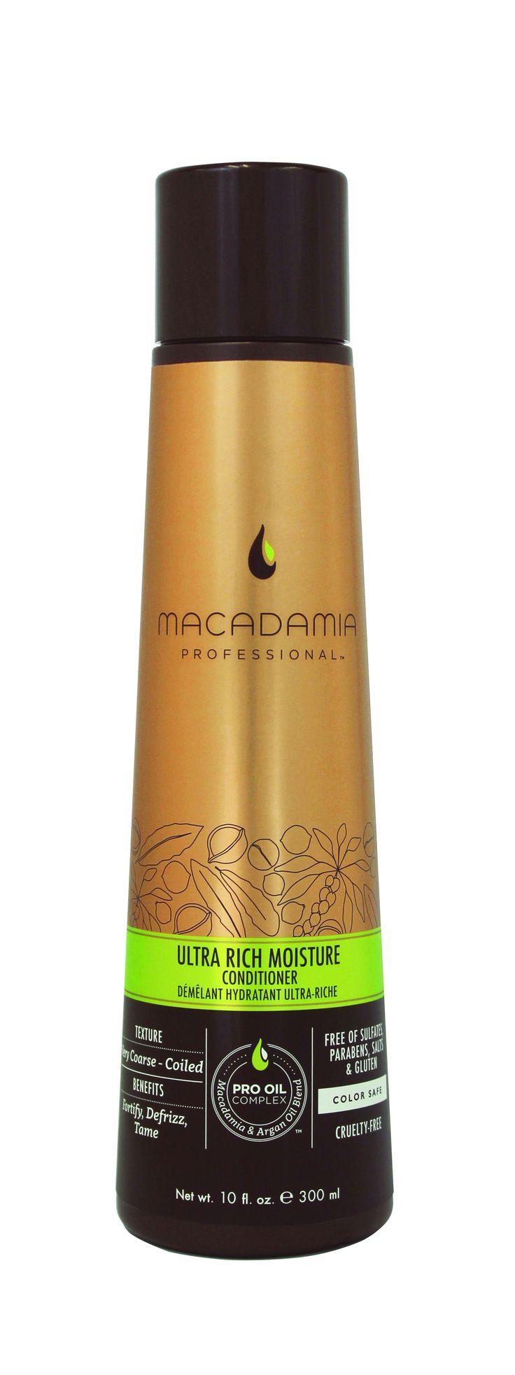 Macadamia Professional Ultra Rich Moisture Conditioner 300ml.