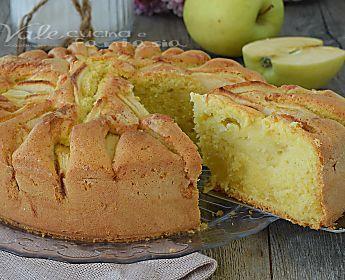 Torta mele sofficissima ricetta facile veloce e senza burro