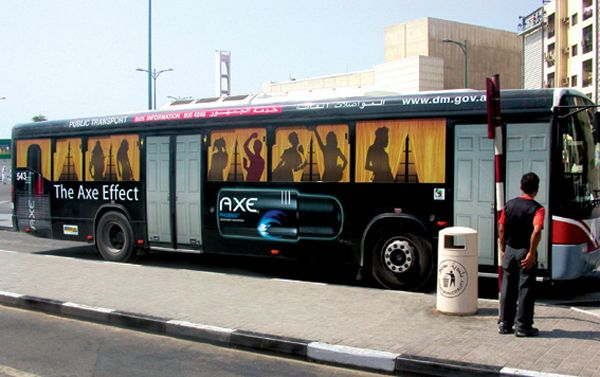 20 Clever  Creative Bus Ads That Make You Look Twice