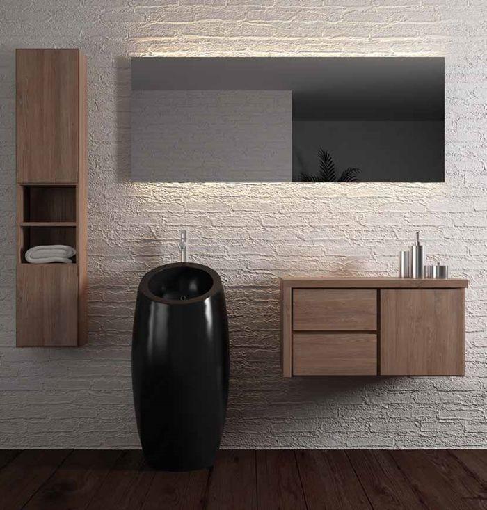 Oltre 25 fantastiche idee su mobili da bagno su pinterest - Mobili bagno teak ...