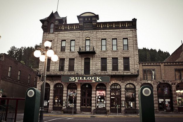 The Historic Bullock Hotel in Deadwood, South Dakota - This is said to be one of the most haunted hotels in the U.S., haunted by none other than the person it's named after, Seth Bullock, who died inside the hotel in 1919. The basement in particular is said to be crawling with activity, where it's been reported that glasses fly off shelves and a presence is felt. Many guests even reported catching whiffs of a cigar or seeing Bullock's image in a mirror.