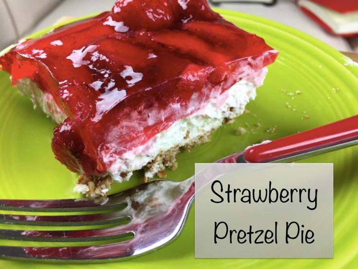 Strawberry pretzel pie makes for a great dessert for your BBQ or other summer gatherings.