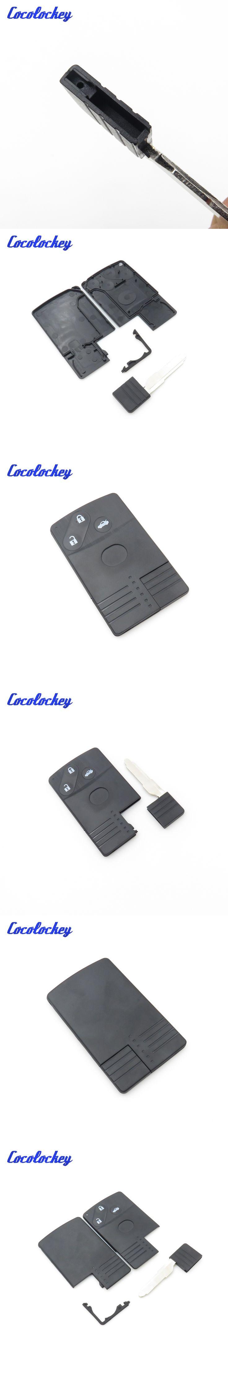 Cocolockey Brand New Smart Key Case for MAZDA 5 6 CX-7 CX-9 RX8 Miata 3 button