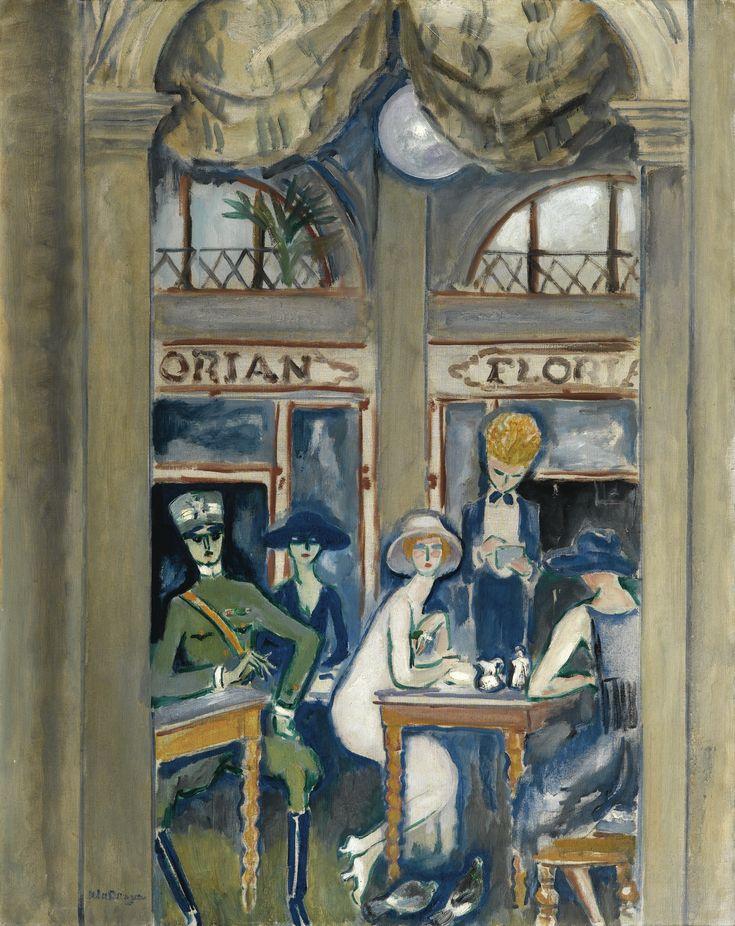kees van dongen(1877-1968), café florian, venise, 1921. oil on canvas, 92.2 x 73.2 cm. sotheby's