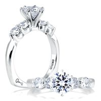 Engagement RIngs SIde Diamonds - Wink's Jewelry