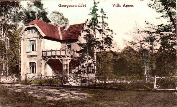 Георгенсвальде. Вилла Аньес.