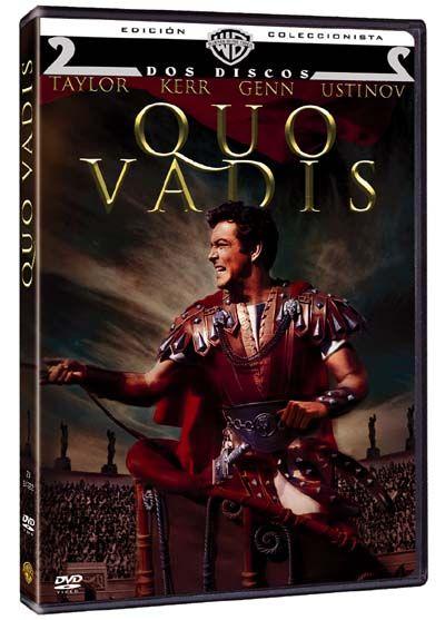 Quo Vadis (1951) EUU. Dir.: Mervyn LeRoy. Drama. Aventuras. Cine épico. Histórico. Antiga Roma. Relixión - DVD CINE 1899