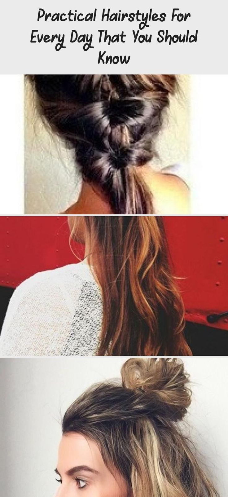 Practical Hairstyles For Every Day That You Should Know  #every #hairstyles #practical #should #summerhairstylesWithBangs #summerhairstyles2018 #summerhairstylesHaircuts #summerhairstylesMen #summerhairstylesBuns