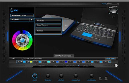 AlienWare M14 gaming laptop