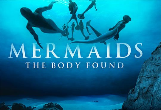 mermaids the body found - Google Search This is a docufiction about the possibility that mermaids did/do exist. This show aired on animal planet a couple of years ago and goes along with the factoid term in that these beings existed once they were out on national television and did not exist before hand.