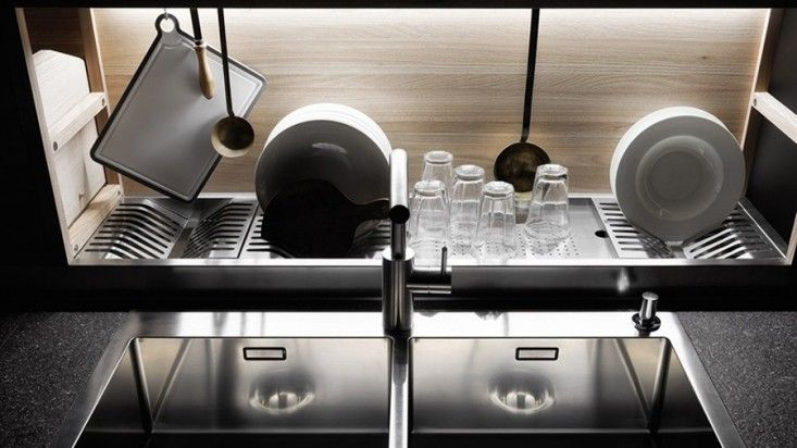 Valcucine Sine Tempore dish drain - maybe we can build a similar one???
