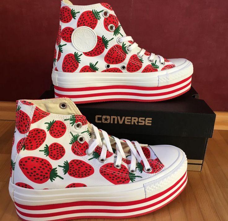 Hingucker: Sneaker von Converse, Platform, Plateau, Gr. 4 UK, neu in Kleidung & Accessoires, Damenschuhe, Turnschuhe & Sneaker | eBay