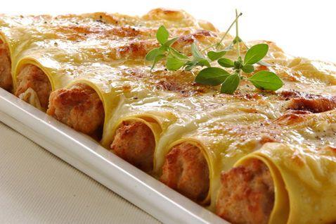 Κανελόνια γεμιστά με κοτόπουλο - Συνταγές Μαγειρικής - Chefoulis