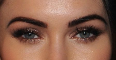 Pretty eyes.Oh, Look! Another Rose Gold Eyeshadow Look to Drool Over, This Time on Megan Fox