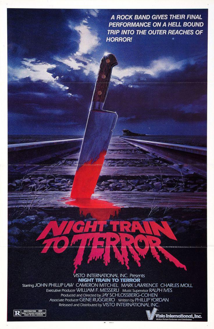 Night Train to Terror (1985) Stars: Barbara Wyler, Jamie Scoggin, Stacey Lyons ~ Directed by  John Carr, Phillip Marshak , Tom McGowan , Jay Schlossberg-Cohen , Gregg C. Tallas