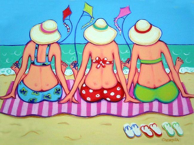 girlfriends. would make a cute quilt